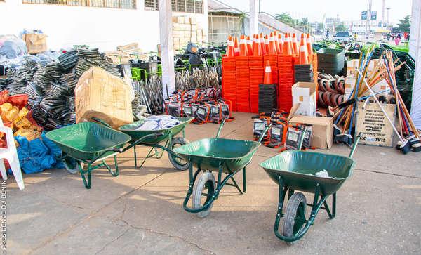 Gestion des ordures dans le grand Nokoué