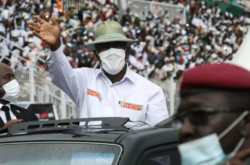 Présidentielle d'octobre 2020 en Côte d'Ivoire :  Alassane Ouattara officiellement investi candidat par le RDHP
