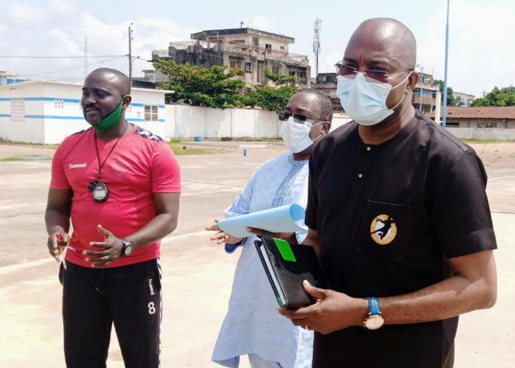 Fédération Béninoise de Handball :Visite du président BONOU aux aspirants encadreurs des classes sportives