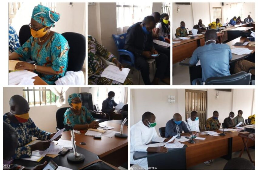 Kandi / Gouvernance local: Session extraordinaire du conseil communal