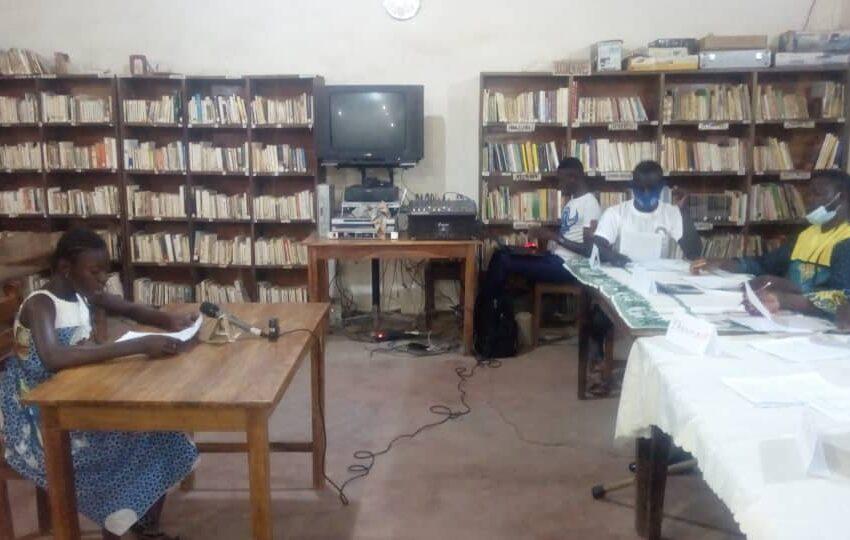 Concours de lecture à Kandi