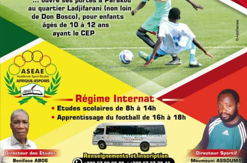 Centre de formation de jeunes footballeurs