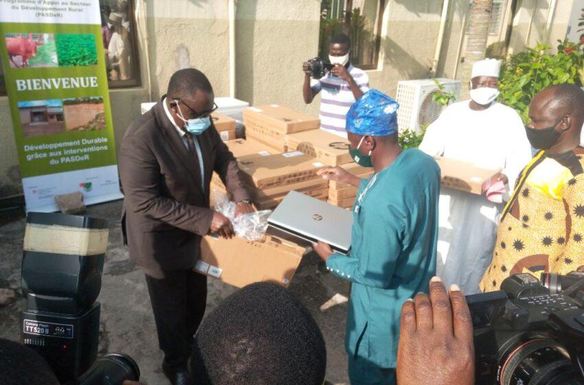 Bénin/ PASDeR : Les organisations socioprofessionnelles agricoles équipées