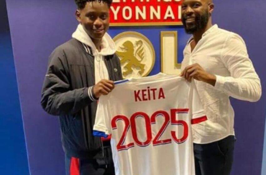 Mercato : Habib Keita atterrit à l'OL en France.