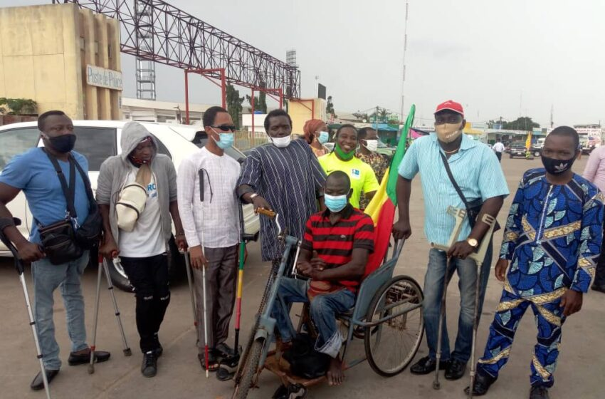 De Natitingou à Cotonou: Le marcheur en tricycle accueilli par Ouorou Barè