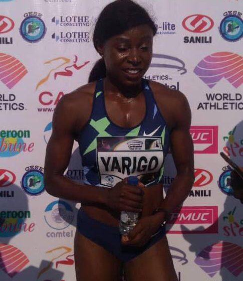 Grand Prix CAA:Noélie Yarigo en OR