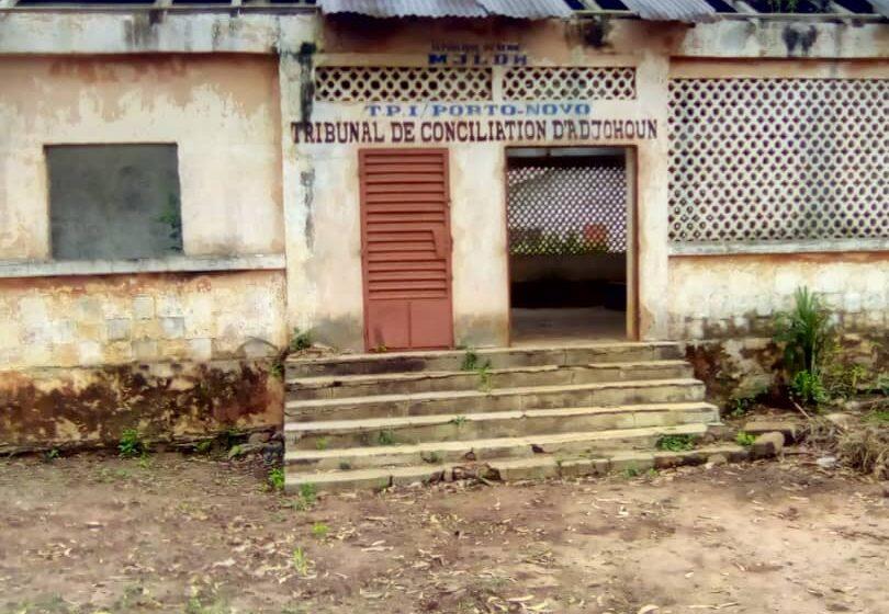 Tribunal de conciliation d'Adjohoun: Un patrimoine délaissé