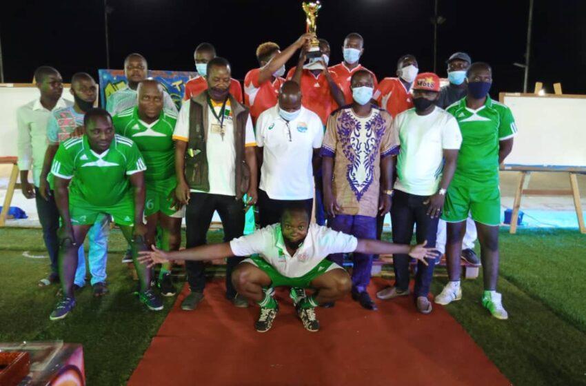 Challenge Télé Inter-Villes à Cotonou: Pari gagné par Darius Soren Dadé et le CMAJB