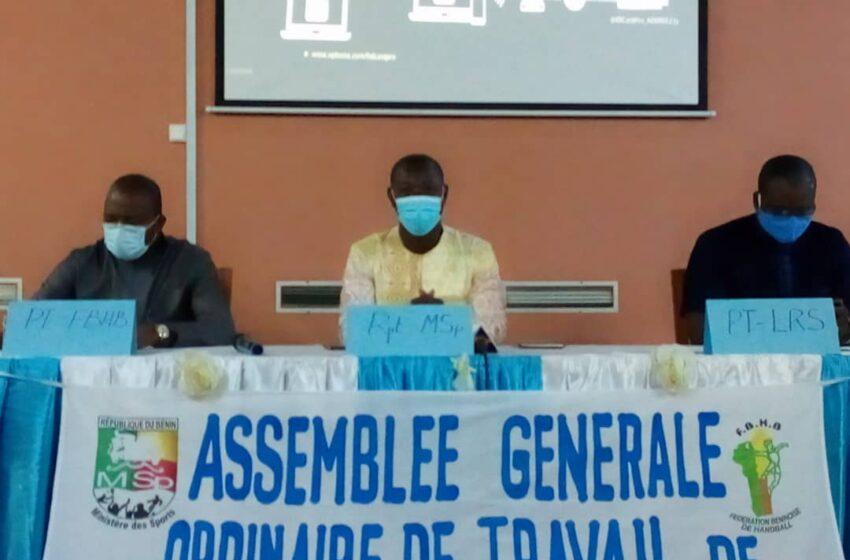 Assemblée générale ordinaire de la Fédération Béninoise de Handball:Reddition de comptes à mi-parcours