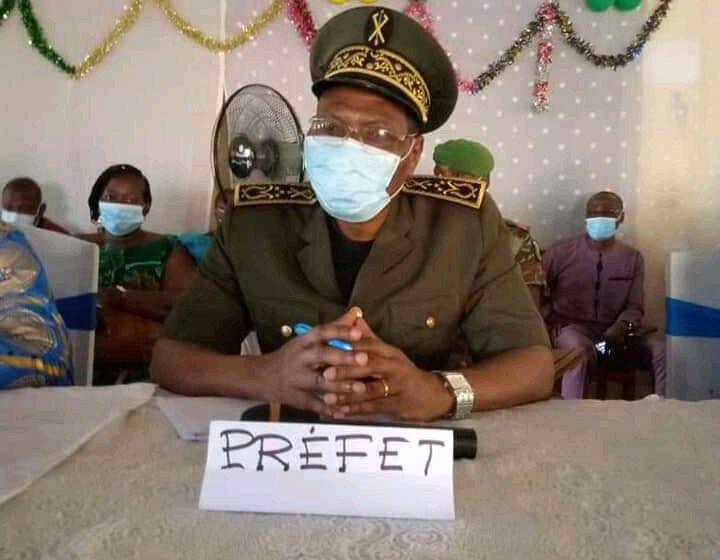 Tournée statutaire dans le département de l'Ouémé : Joachim Marie Florès Akpity au contact des populations de Bonou