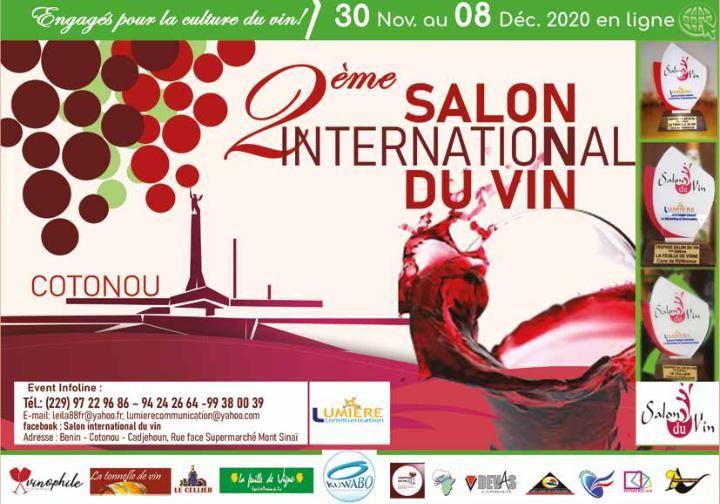 Deuxième édition du Salon international du vin:L'événement a lieu en ligne du 30 novembre au 8 décembre prochain