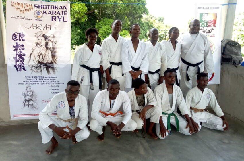Séminaire international de Karaté:L'Ong Shotokan Karaté Ryu outille une trentaine de pratiquants