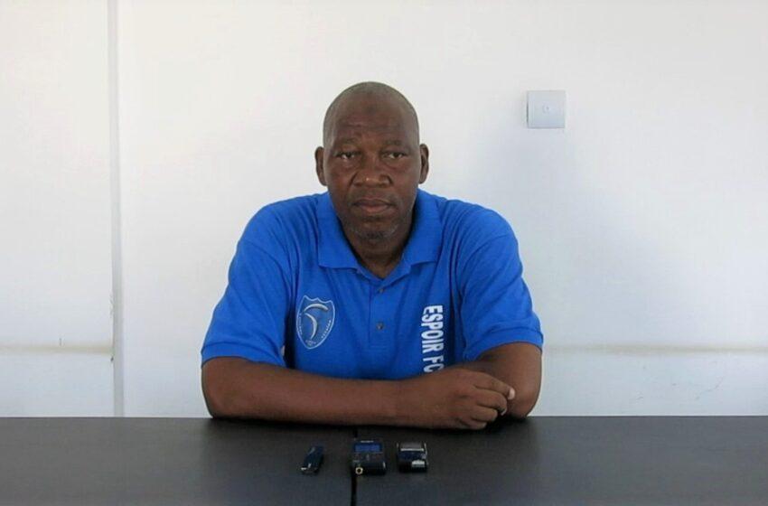 """Conférence de presse de Diouf Fofana Aboubacar: """" L'objectif est de qualifier Espoir de Savalou pour la Super Ligue Pro…"""""""