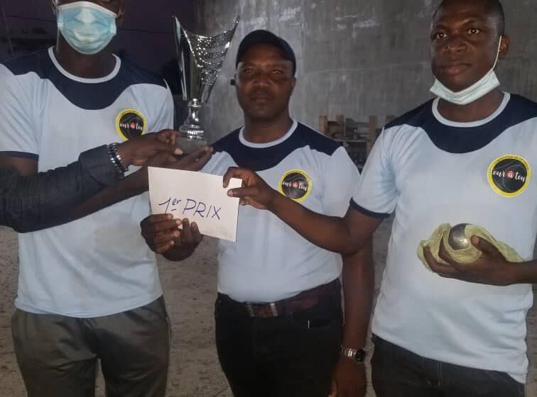Première édition des Trophées des champions : Prestige Pétanque Club vainqueur