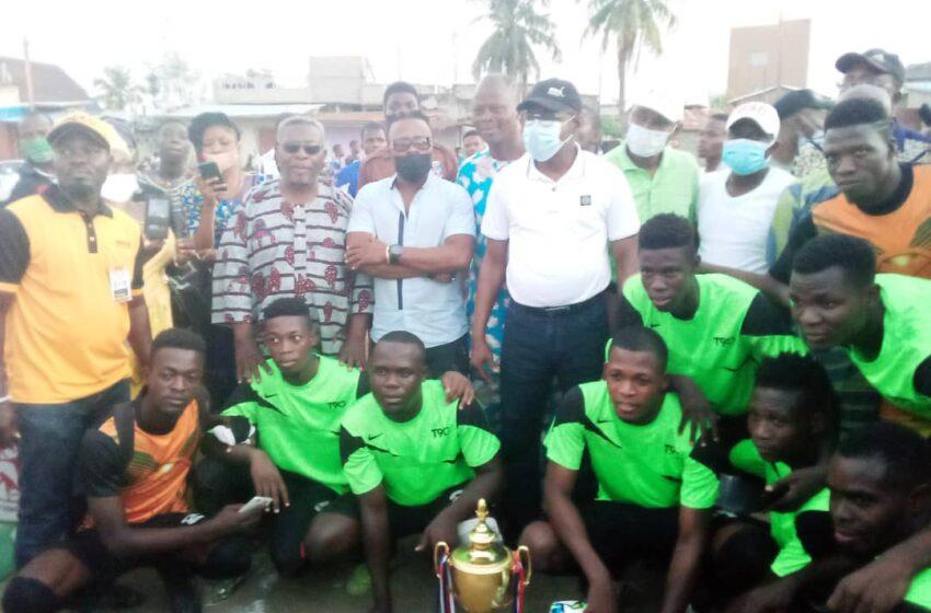 """5e édition du tournoi de football """"League des Pros"""" : Mustang FC de Pahou vainqueur"""