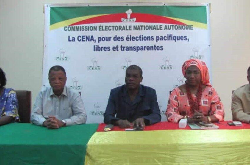 Présidentielle d'avril 2021 au Bénin: Trois duos retenus par la CENA