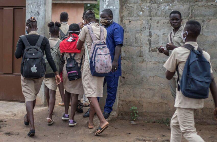 Gestes barrières dans les établissements scolaires : Une autre réalité