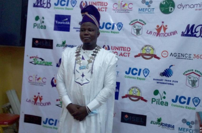 Jeune chambre internationale Cotonou Espoir: Roland Raoul Dagoli place son mandat sous le signe de «United to Act»