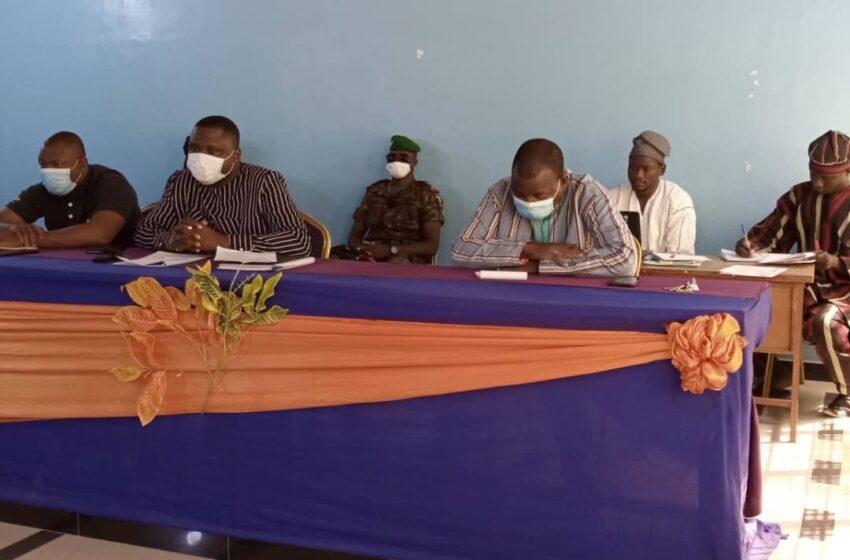 Session extraordinaire du conseil communal de Banikoara: Un nouvel organigramme adopté