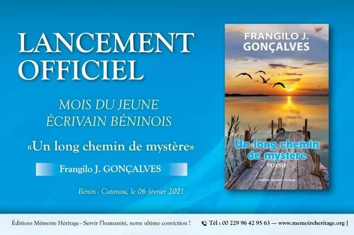 Mois du jeune écrivain béninois : Une initiative des Editions Mémoire Héritage
