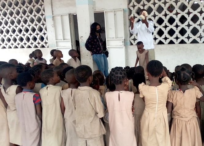 Santé bucco-dentaire du du Projet santé plus: Les écoliers de l'Epp Adogléta sensibilisés