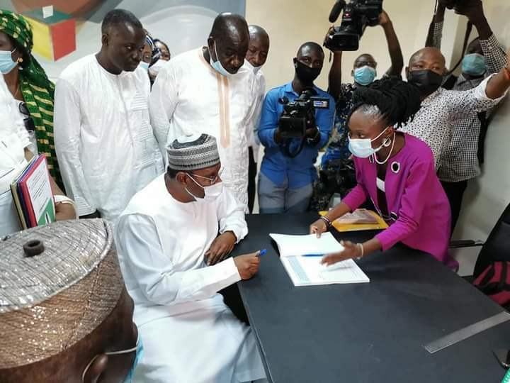 Election présidentielle d'avril 2021 au Bénin : Le duo Djimba-Hounkpê enregistré