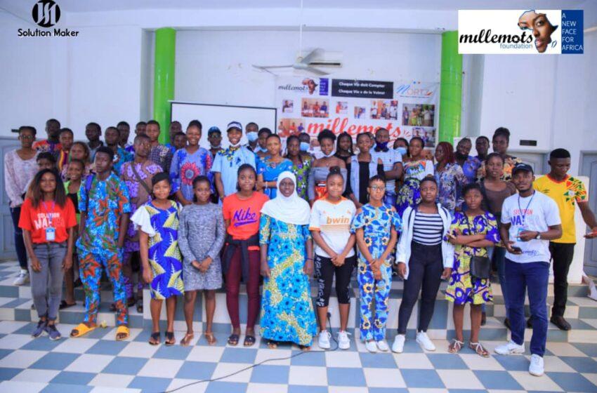 Formations destinées aux candidats de la Cohorte 2021:Millemots Vox et The Voxers Bénin tiennent le pari