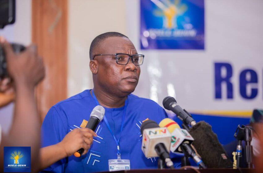 Présidentielle 2021 : Moele Bénin prône le maintien de la paix