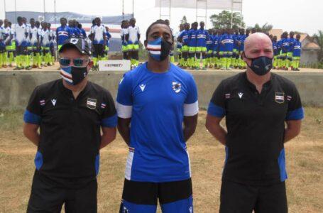 Stage de football ''International Samp Camp'' : Des jeunes béninois à la découverte des exigences du haut niveau