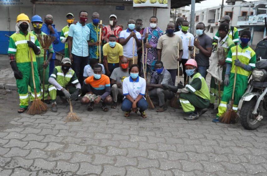 Journée de salubrité dans le 3e arrondissement de Cotonou: La Jci Cotonou Espoir pour un environnement sain et propre