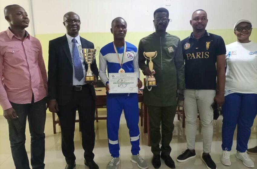 Victorieux du tournoi de randonnée pédestre à Abidjan: Yawo Parfait Koudoumè honoré par Fédération béninoise