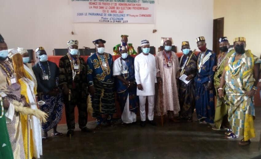 En conclave à Adjohoun : Les gardiens de nos traditions prient pour la paix