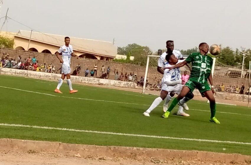 Public au stade: Bénin Ligue Pro accroche