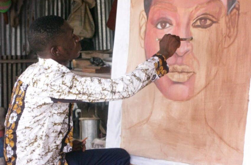 Kmam Leroi : « L'art est la voix qui résonne quand la bouche ne peut s'exprimer »