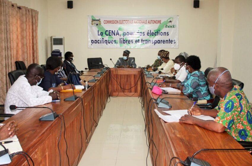 Présidentielle du 11 Avril 2021: La Cour constitutionnelle et la CENA prêtes pour la bonne tenue des élections