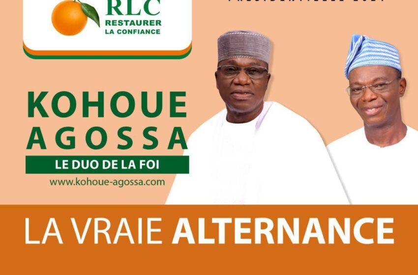 Présidentielle 2021 : Le duo Kohoué-Agossa condamne l'opposition radicale