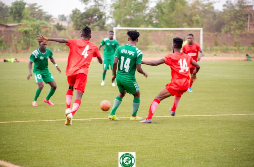Bénin Super ligue Pro : Loto-Popo valide son billet