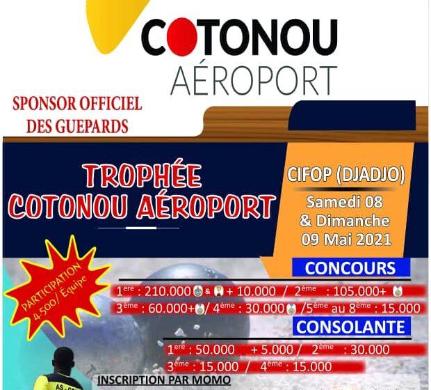 """1ère édition du """"Trophée Cotonou Aéroport """"de Pétanque: Plusieurs lots à gagner"""