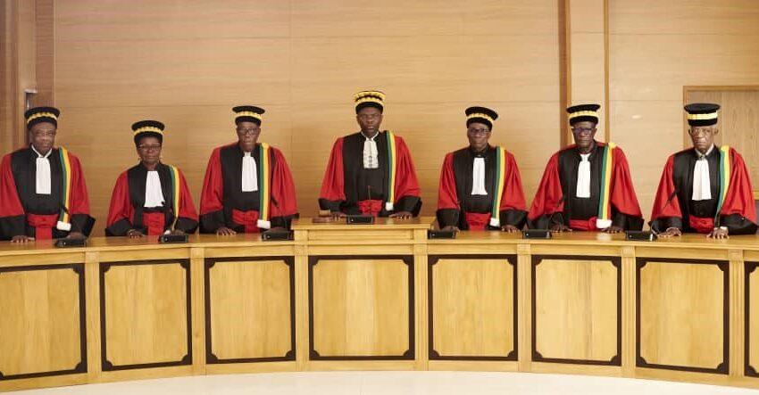 Présidentielle du 11 avril 2021 : Les conseillers à la Cour constitutionnelle déployés sur le terrain