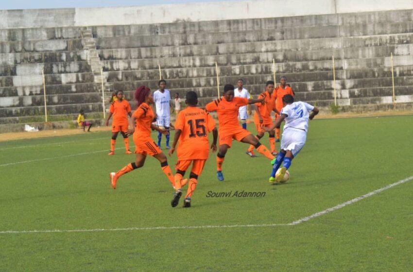 Championnat de football féminin au Bénin: Bonne opération des Tigresses