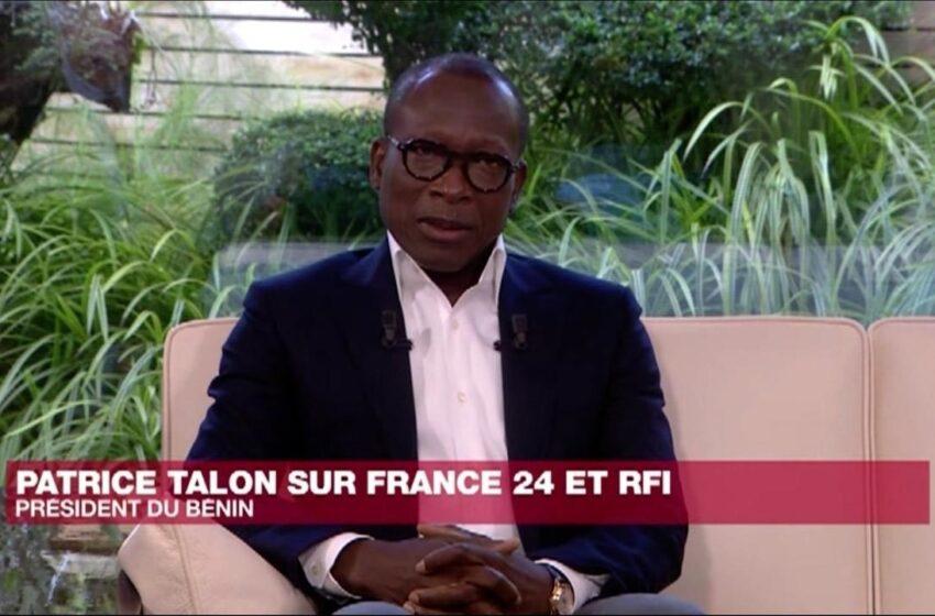 Patrice Talon sur France 24 et RFI: Décryptage!