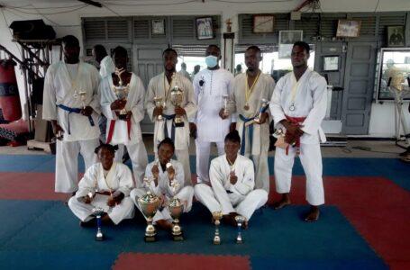 Open de Cotonou Senior 2021: Objectif atteint pour la ligue Atlantique‐Littoral de Karaté-Do