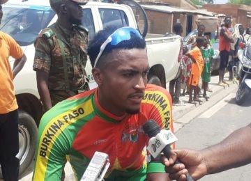 3ème étape du 16ème Tour cycliste international du Bénin : Paul Daumont ne lâche rien