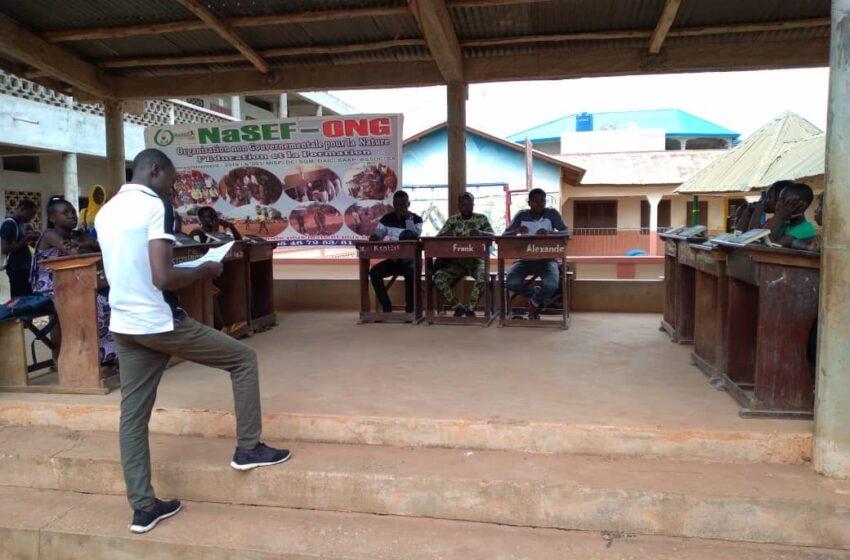 Éducation: NaSEF-ONG œuvre pour l'épanouissement des enfants en milieu scolaire