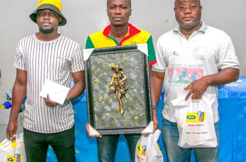Scrabble, Coupe du président : Émile Agbanglassi empoche l'or