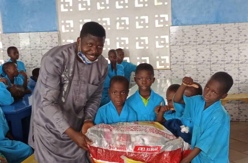 Don aux orphelins de Pobè : Le forum Fênou fait œuvre utile