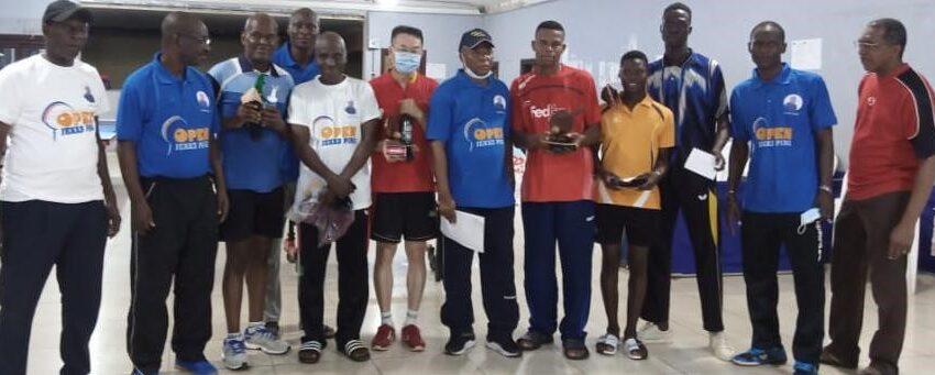 2e édition du Tournoi Jekks ping: Adjimon Alvaro et Wei Jun sacrés