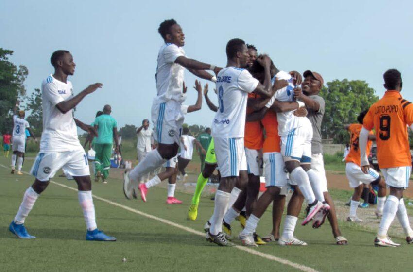 Super Ligue Pro: ESAE FC (Loto Popo) sur le toit du football béninois