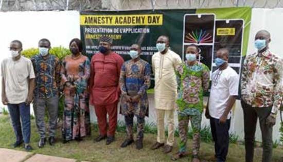 Amnesty Academy: La nouvelle plateforme de Amnesty International Bénin