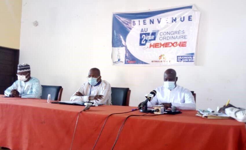 Congrès électif de Wémèxwé: Antoine Bonou garde le flambeau
